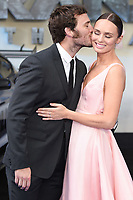 "Laura Haddock and Sam Claflin<br /> at the ""Transformers:The Last Night"" Global premiere, Leicester Square, London. <br /> <br /> <br /> ©Ash Knotek  D3284  18/06/2017"