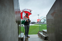 A view through the walkway at the Hampshire Bowl during India vs New Zealand, ICC World Test Championship Final Cricket at The Hampshire Bowl on 18th June 2021