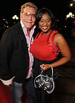 Bubby McNeely and Sharron Melton on the red carpet at Fashion Houston at the Wortham Theater Thursday Nov.14,2013.  (Dave Rossman photo)