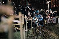 Thomas Joseph (BEL/U23)<br /> <br /> U23 race<br /> Superprestige Diegem / Belgium 2017