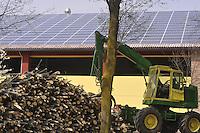 - Abbiategrasso (Mi), impianto per lo sfruttamento di biomasse (legname di scarto) per la produzione di energia elettrica, acqua calda per il teleriscaldamento e pellets (combustibile ecologico); tetto con pannelli solari fotovoltaici integrati<br /> <br /> - Abbiategrasso (Mi) plant for exploitation of biomass (wood waste)  to produce electricity, hot water for district heating and pellets (ecological fuel); roof with builded in photovoltaic solar panels