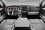 Stock photo of straight dashboard view of 2016 Toyota Sequoia 5.7-Auto-SR5 5 Door SUV Dashboard