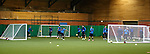 Warmup work with four goals