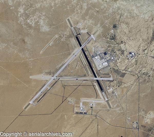 aerial map of Naval Air Weapons Station China Lake airport (NID), China Lake, Kern County, California