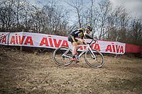 Ellen Van Loy (BEL/Telenet-Fidea)<br /> <br /> women's race<br /> CX Soudal Classics Leuven/Belgium 2017