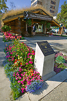 Anchorage Convention and Visitor's Bureau, downtown Anchorage