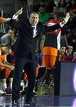 Montakit Fuenlabrada's coach Jota Cuspinera during Eurocup, Regular Season, Round 6 match. November 16, 2016. (ALTERPHOTOS/Acero)