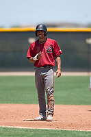 Arizona Diamondbacks shortstop Jose Caballero (13) smiles for a photo during an Extended Spring Training game against the Cleveland Indians at the Cleveland Indians Training Complex on May 27, 2018 in Goodyear, Arizona. (Zachary Lucy/Four Seam Images)