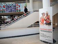 Februari 06, 2015, Apeldoorn, Omnisport, Fed Cup, Netherlands-Slovakia, Draw, Cityhall<br /> Photo: Tennisimages/Henk Koster