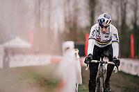Wout Van Aert (BEL/Cibel-Cebon) during his course recon<br /> <br /> Belgian National CX Championschips<br /> Kruibeke 2019