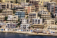 Saint Paul's, Malta.  Apartment Buildings.  Flats.