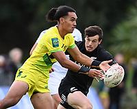 22nd May 2021; Grammar Tec, Auckland New Zealand; All Blacks Sevens versus Australia, Trans-Tasman Sevens;