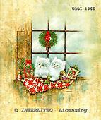 GIORDANO, CHRISTMAS ANIMALS, WEIHNACHTEN TIERE, NAVIDAD ANIMALES, paintings+++++,USGI1966,#XA#