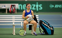 March 14, 2015, Netherlands, Rotterdam, TC Victoria, NOJK, Cato Tangkau (NED)<br /> Photo: Tennisimages/Henk Koster