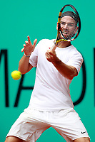 Adrian Mannarino, France, during Madrid Open Tennis 2018 match. May 7, 2018.(ALTERPHOTOS/Acero) /NortePhoto.com