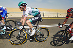 Ben Zwiehoff (GER) Bora-Hansgrohe during Stage 1 of the 2021 UAE Tour the ADNOC Stage running 176km from Al Dhafra Castle to Al Mirfa, Abu Dhabi, UAE. 21st February 2021.  <br /> Picture: Luca Bettini/BettiniPhoto | Cyclefile<br /> <br /> All photos usage must carry mandatory copyright credit (© Cyclefile | Luca Bettini/BettiniPhoto)