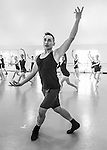 Dancers of the Professional Training Program at Cary Ballet Conservatory with Choreographer and Teacher Francisco Gella