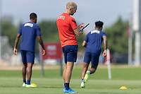 FRISCO, TX - JULY 20: Head coach Gregg Berhalter of the United States during a training session at Toyota Soccer Center FC Dallas on July 20, 2021 in Frisco, Texas.