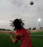 Zachary Herold. U.S. Under-17 Men Training  Kano, Nigeria