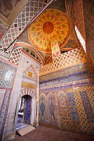 Tiled passage to the Privy Chamber of Sultan Murad III. Topkapi Palace, Istanbul, Turkey