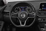 Car pictures of steering wheel view of a 2020 Nissan Altima SV 4 Door Sedan Steering Wheel