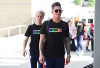 Sandy, Utah - Thursday June 07, 2018: Ashlyn Harris during an international friendly match between the women's national teams of the United States (USA) and China PR (CHN) at Rio Tinto Stadium.