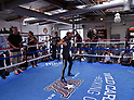 Boxing: Kazuto Ioka of Japan during media workout in Santa Monica
