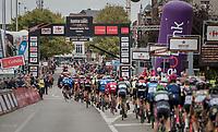 crossing the finish line for 7 local laps<br /> <br /> 77th Euro Metropole Tour 2017<br /> La Louvière > Tournai (BEL): 188.6 km