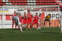 Freistofl von Toni Kroos (FC Bayern M¸nchen) zum 1:4