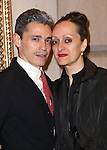 Ruben Toledo and Isabel Toledo attend the Broadway Opening Night Performance of 'The Visit' at the Lyceum Theatre on April 23, 2015 in New York City.