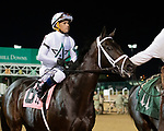 September 18, 2021: #8 Major General in the post parade G3 Iroquois S. at Churchill Downs in Louisville, Kentucky on September 18, 2021. Jessica Morgan/Eclipse Sportswire.