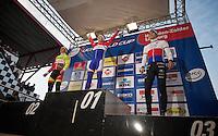 victory for Lars van der Haar (NLD)<br /> <br /> UCI Worldcup Heusden-Zolder Limburg 2013