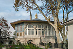 The Topkapi Palace is a palace in Istanbul, Turkey, which was the official and primary residence in the city of the Ottoman Sultans.