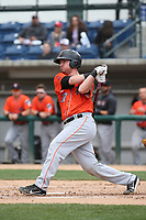 Michael Barash (32) of the Inland Empire 66ers bats against the Rancho Cucamonga Quakes at LoanMart Field on May 7, 2017 in Rancho Cucamonga, California. Rancho Cucamonga defeated Inland Empire, 6-0. (Larry Goren/Four Seam Images)