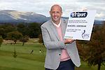 Gary McAllister at Glenbervie Golf Club as he looks ahead to next week's Rangers v Hibs clash at Ibrox