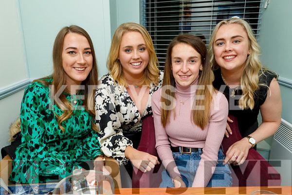 Carol McMahon, Shona Heaslip, Éadaoin McGinley and Laura Byrne enjoying the evening in Sforno on Saturday.