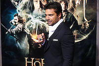 """HOLLYWOOD, CA - DECEMBER 02: Manu Bennett arriving at the Los Angeles Premiere Of Warner Bros' """"The Hobbit: The Desolation Of Smaug"""" held at Dolby Theatre on December 2, 2013 in Hollywood, California. (Photo by Xavier Collin/Celebrity Monitor)"""