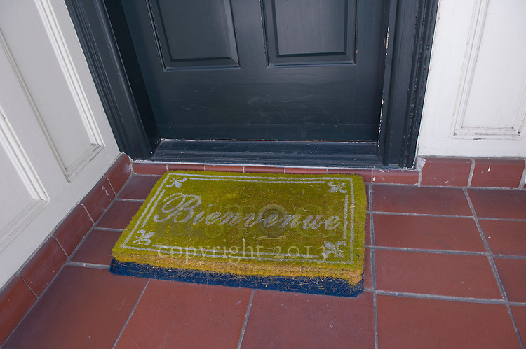French Welcome Mat