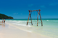 Swings In Bai Sao Beach, Phu Quoc, Vietnam