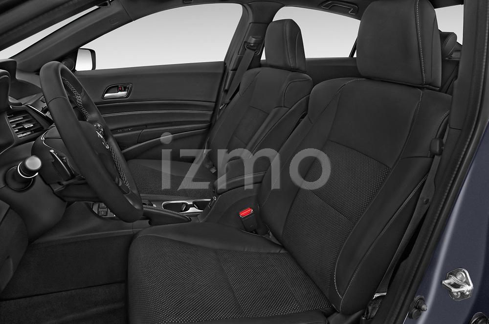 Front seat view of 2018 Acura ilx Tech Plus A Spec 4 Door Sedan front seat car photos