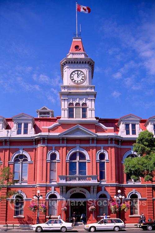 Victoria, BC, British Columbia, Canada, Vancouver Island - Historic City Hall