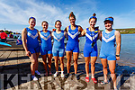 Killorglin Rowing Club had a great showing at the Womens Open C2X Irish Offshore Rowing Championships held in  Portmagee on Saturday pictured here l-r; 4th Anna Tyther & Molly Sullivan, 1st Rhiannin O'Donoghue & Monika Dukarska, 2nd Zoe Hyde & Katie Boyle.