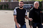 Spainsh Daniel Carvajal  arriving at the concentration of the spanish national football team in the city of football of Las Rozas in Madrid, Spain. November 08, 2016. (ALTERPHOTOS/Rodrigo Jimenez)
