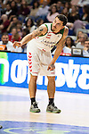 Laboral Kutxa's Mike James during Liga Endesa ACB at Barclays Center in Madrid, October 11, 2015.<br /> (ALTERPHOTOS/BorjaB.Hojas)