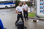 Spainsh Dani Carvajal arriving at the concentration of the spanish national football team in the city of football of Las Rozas in Madrid, Spain. August 28, 2017. (ALTERPHOTOS/Rodrigo Jimenez)