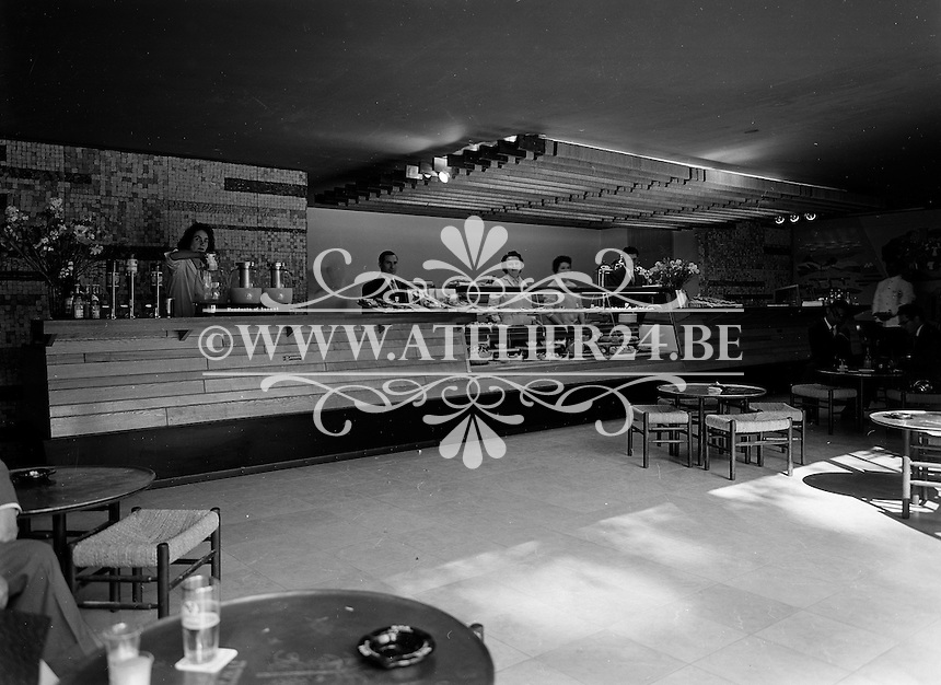 Wereldtentoonstelling in Brussel in 1958. Paviljoen Israel.