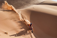 5th January 2021; Dakar Rally stage 3; 04 Cornejo Florimo Jose Ignacio (chl), Honda, Monster Energy Honda Team 2021, Motul, Moto, Bike, action during the 3rd stage of the Dakar 2021 between Wadi Al Dawasir and Wadi Al Dawasir, in Saudi Arabia on January 5, 2021