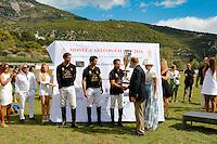 L L Equipe Elena Silvodaeva Team S.A.S. Le Prince Albert II Elena Silvodaeva - 4eme Monte-Carlo Polo Cup, Trophee Elena Sivoldaeva au Domaine du Vire vent Saint Martin de Peille le 18 Septembre 2016