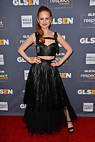 LOS ANGELES, USA. October 26, 2019: Madelaine Petsch at the GLSEN Awards 2019 at the Beverly Wilshire Hotel.<br /> Picture: Paul Smith/Featureflash