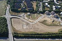 Deutschland.Schleswig- Holstein.Glinde.Wohnungsbau.K 80.Wasserruekhaltebecken